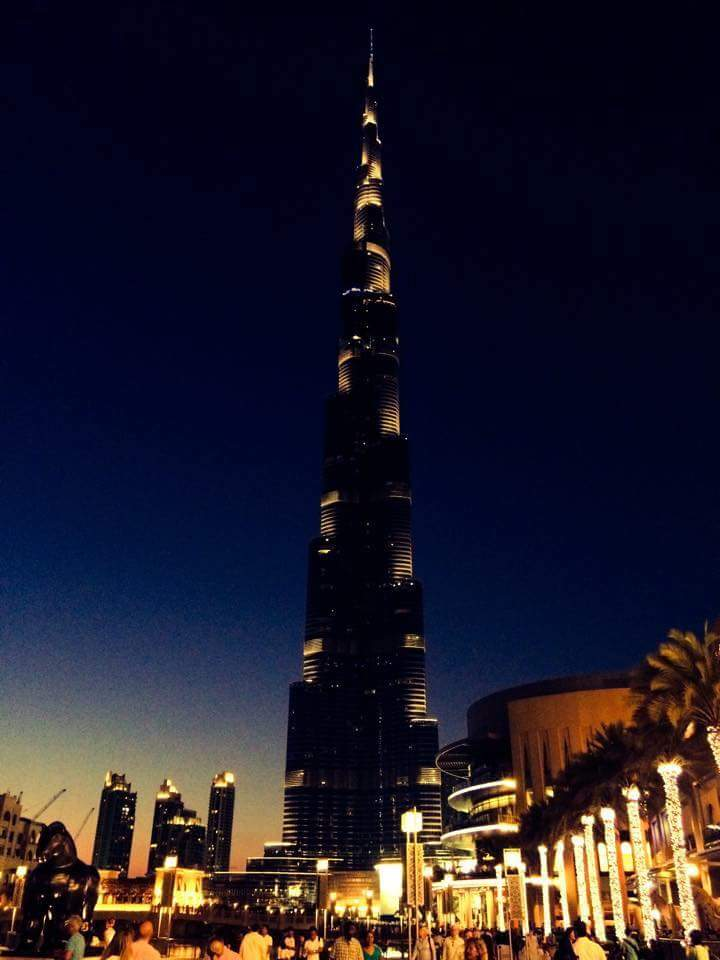 BhurJ Khalifa Night View