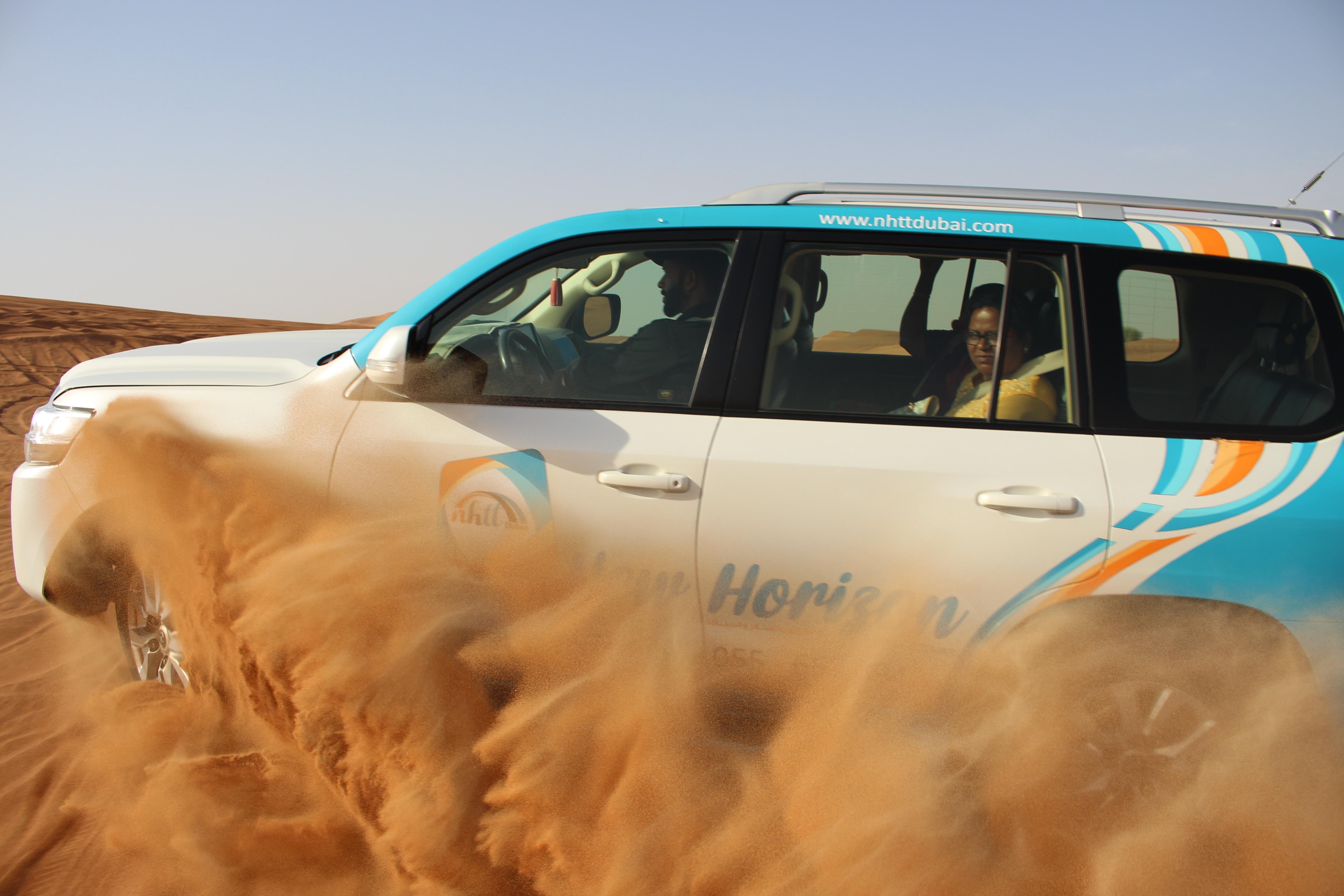 Desert Safari + Wild Wadi Park Tour Package