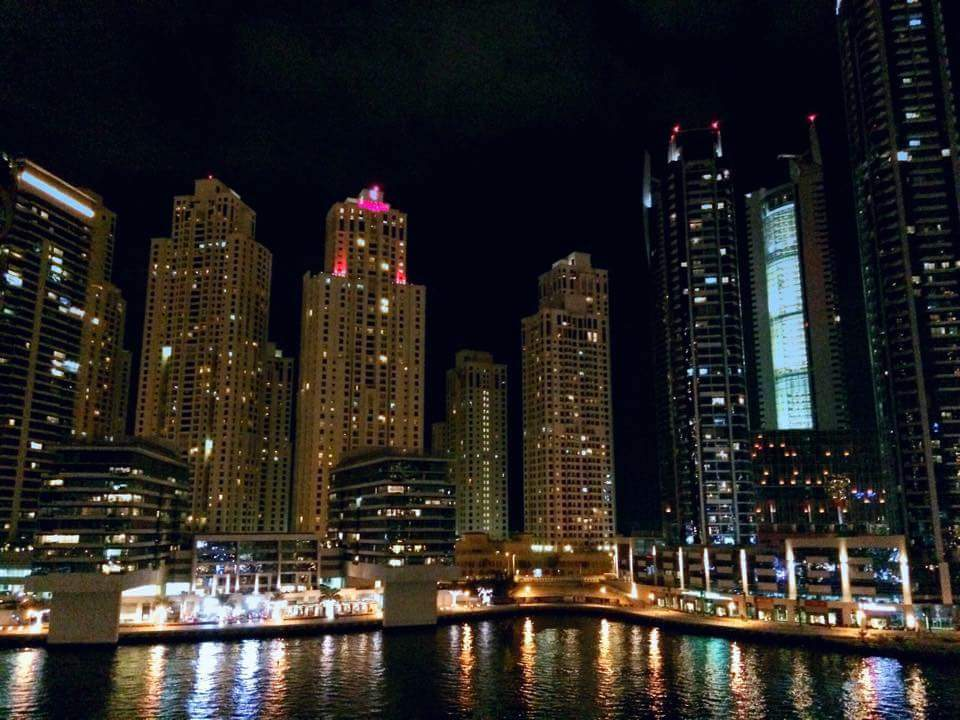 Marina Night View